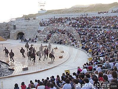 Greek tragedies-Ajax Editorial Stock Photo