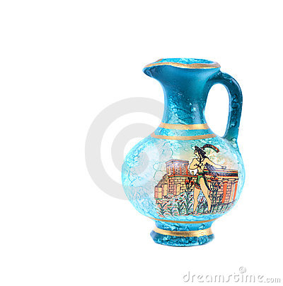 Free Greek Vase Royalty Free Stock Photos - 3419998