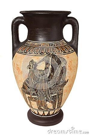 Free Greek Vase Royalty Free Stock Photos - 8550948