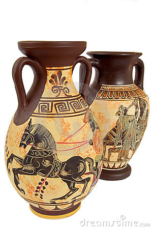 Free Greek Vases1 Stock Images - 5513494