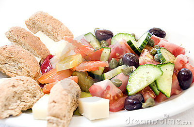 Greek vegetable plate