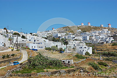 Greek village, amorgos