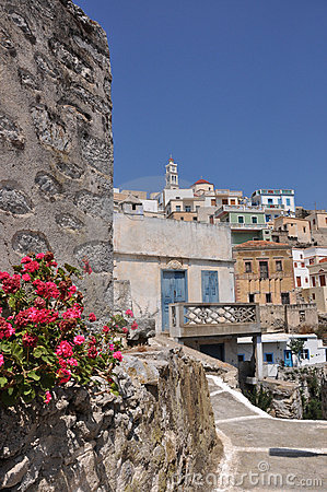 Greek village Olympos