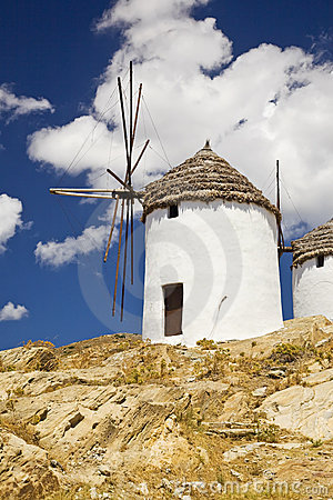 Greek Windmills, Cyclades, Greece