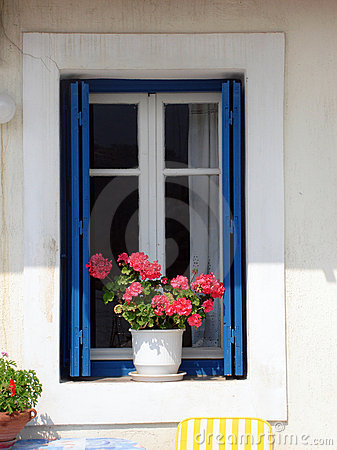 Greek window