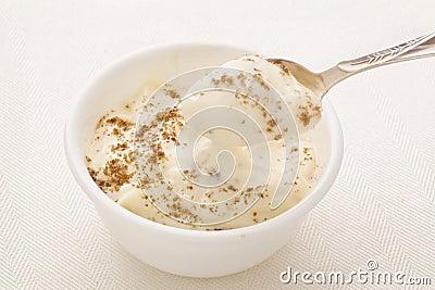 Greek yogurt with chia seeds