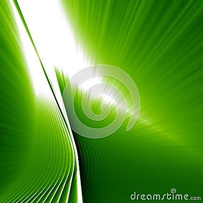Green abstarct shine background