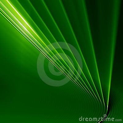Green abstarct shine background