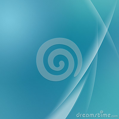 Green Abstract Curve Background