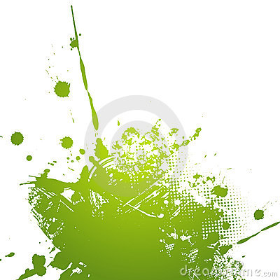 Green abstract illustration.