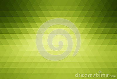 Green abstract mosaic background
