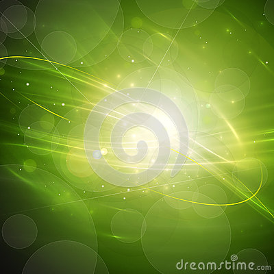 Green Abstract Motion