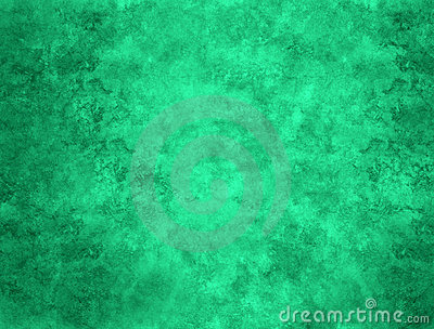 Green Abstract Painted Background