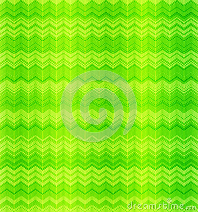 Green abstract zigzag textile seamless pattern