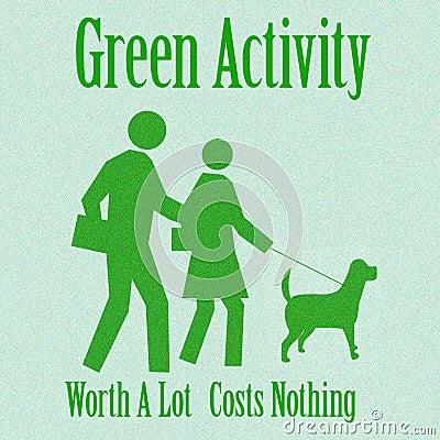 Green activity