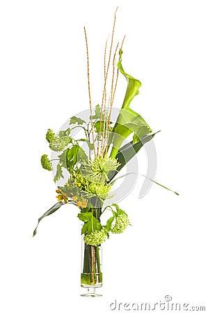 Green Alepes kalla bouquet