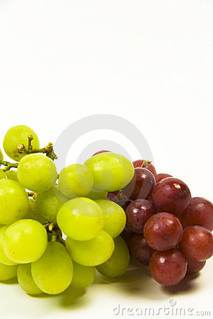Free Green And Red Grapes Stock Photos - 7655543