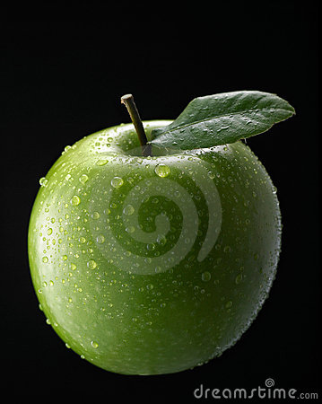Free Green Apple Royalty Free Stock Photography - 5303887