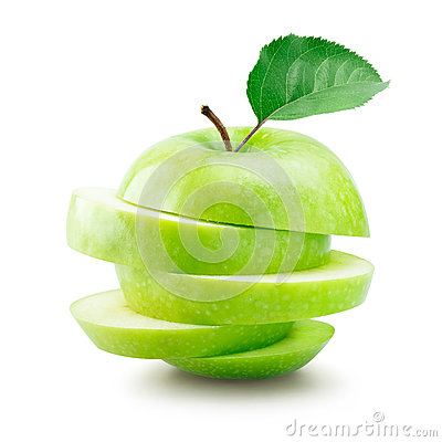Free Green Apple Stock Photography - 63319872