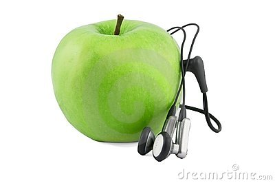 Green apple device
