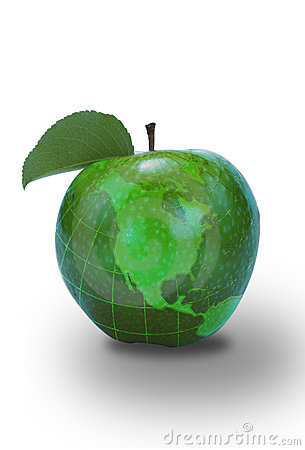 Green Apple North America Map