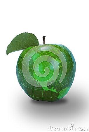 Green Apple North America Map