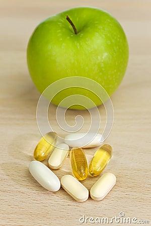 Green Apple Nutrition Supplement Pills or Medicine