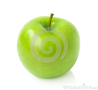 Free Green Apple On White Background With Clipping Path, Fruit Health Royalty Free Stock Photos - 99865008