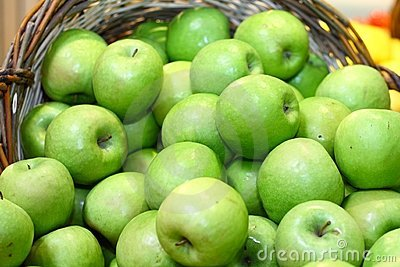 Green apples for nutrition