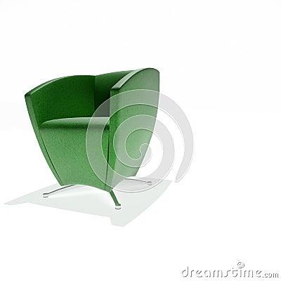 Free Green Armchair Stock Photos - 18757343