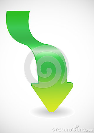 Free Green Arrow Royalty Free Stock Photo - 27788855