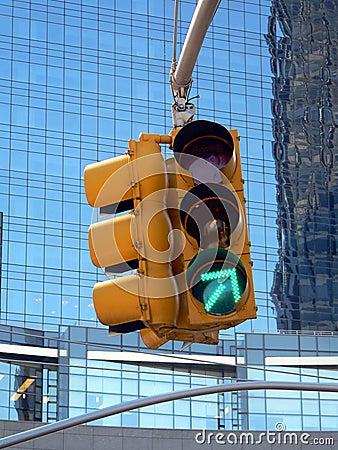 Green Arrow Traffic Light