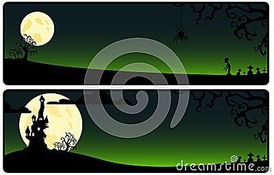 Green background on Helloween