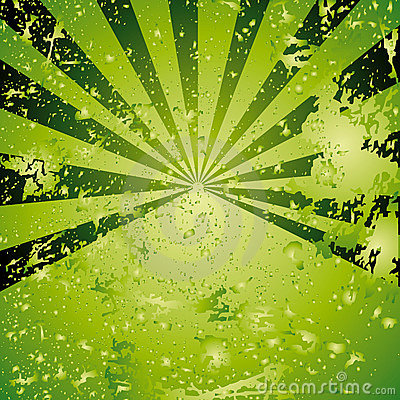 Green background with spots