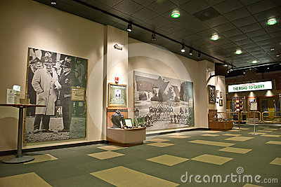 Green Bay Packers Hall of Fame, NFL Football Editorial Stock Image