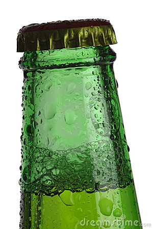 Green Beer bottle top