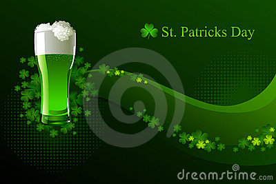 Green beer for St Patrick s Day
