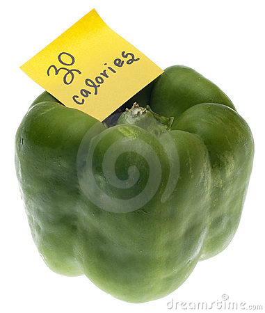 Green Bell Pepper with 30 Calories