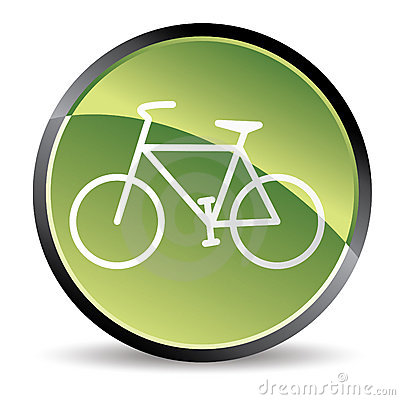 Green bike icon
