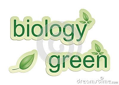 Green biology