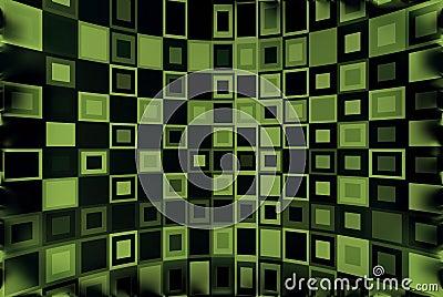 Green & Black Background
