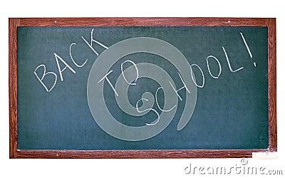 Green blackboard cutout