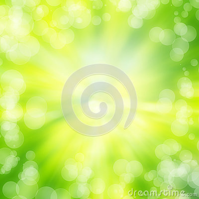Free Green Bokeh Abstract Light Background Texture Stock Photography - 29419092