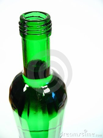 Green Bottle I