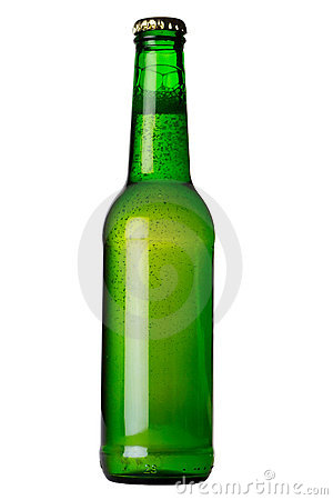 Free Green Bottle With Liquid Stock Image - 1512731