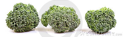 Green broccoli banner