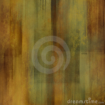 Green / brown abstract