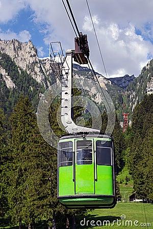 Free Green Cable Car Stock Photos - 63028693