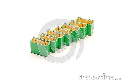 Green capacitors