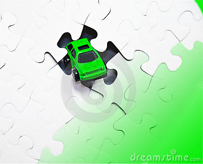 Green Car and Puzzle